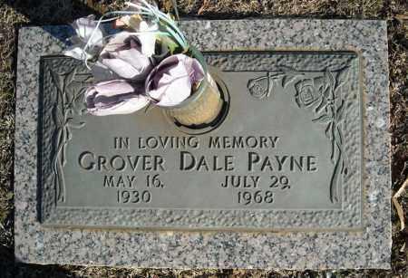 PAYNE, GROVER DALE - Faulkner County, Arkansas   GROVER DALE PAYNE - Arkansas Gravestone Photos