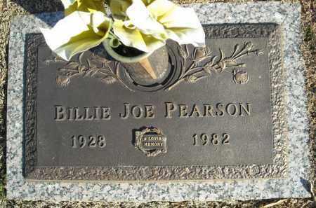 PEARSON, BILLIE JOE - Faulkner County, Arkansas   BILLIE JOE PEARSON - Arkansas Gravestone Photos