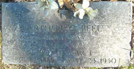 PEEL (VETERAN WWI), ARTHUR C. - Faulkner County, Arkansas | ARTHUR C. PEEL (VETERAN WWI) - Arkansas Gravestone Photos