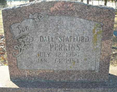 PERKINS, DALE STAFFORD - Faulkner County, Arkansas | DALE STAFFORD PERKINS - Arkansas Gravestone Photos