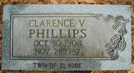 PHILLIPS, CLARENCE V. - Faulkner County, Arkansas | CLARENCE V. PHILLIPS - Arkansas Gravestone Photos