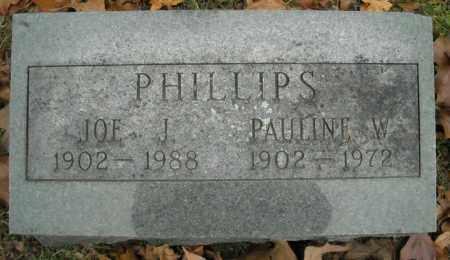 PHILLIPS, JOE J. - Faulkner County, Arkansas   JOE J. PHILLIPS - Arkansas Gravestone Photos