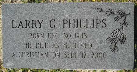 PHILLIPS, LARRY GENE - Faulkner County, Arkansas   LARRY GENE PHILLIPS - Arkansas Gravestone Photos