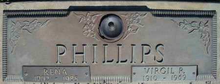 PHILLIPS, RENA - Faulkner County, Arkansas | RENA PHILLIPS - Arkansas Gravestone Photos