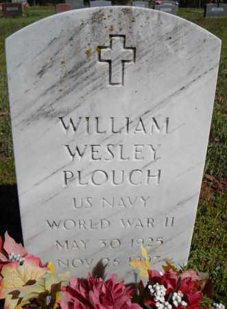 PLOUCH (VETERAN WWII), WILLIAM WESLEY - Faulkner County, Arkansas | WILLIAM WESLEY PLOUCH (VETERAN WWII) - Arkansas Gravestone Photos