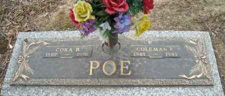 POE, COLEMAN F. - Faulkner County, Arkansas | COLEMAN F. POE - Arkansas Gravestone Photos
