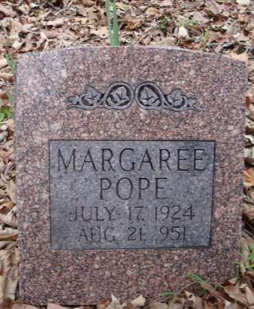 POPE, MARGAREE - Faulkner County, Arkansas | MARGAREE POPE - Arkansas Gravestone Photos