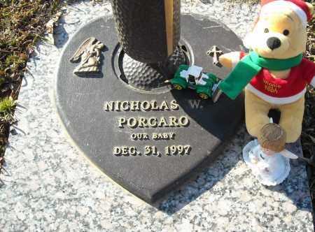 PORCARO, NICHOLAS W. - Faulkner County, Arkansas   NICHOLAS W. PORCARO - Arkansas Gravestone Photos