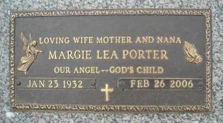 PORTER, MARGIE LEA - Faulkner County, Arkansas | MARGIE LEA PORTER - Arkansas Gravestone Photos