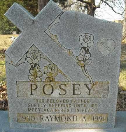 POSEY, RAYMOND A. - Faulkner County, Arkansas | RAYMOND A. POSEY - Arkansas Gravestone Photos