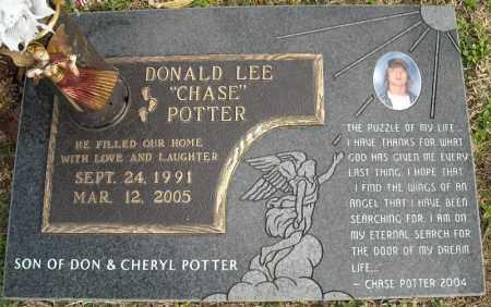 POTTER, DONALD LEE - Faulkner County, Arkansas | DONALD LEE POTTER - Arkansas Gravestone Photos