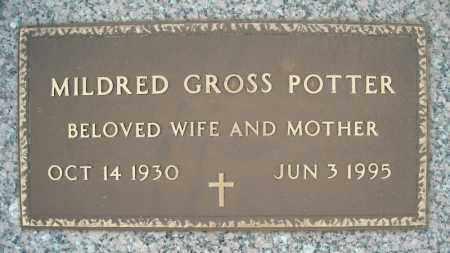 POTTER, MILDRED - Faulkner County, Arkansas | MILDRED POTTER - Arkansas Gravestone Photos