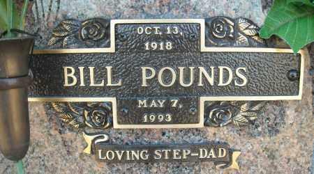 POUNDS, BILL - Faulkner County, Arkansas | BILL POUNDS - Arkansas Gravestone Photos