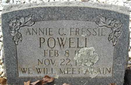 POWELL, ANNIE CAROLINE FRESSIE - Faulkner County, Arkansas | ANNIE CAROLINE FRESSIE POWELL - Arkansas Gravestone Photos