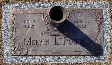 POWELL, MERVIN L. - Faulkner County, Arkansas | MERVIN L. POWELL - Arkansas Gravestone Photos