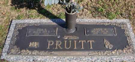 PRUITT, ANDY W. - Faulkner County, Arkansas | ANDY W. PRUITT - Arkansas Gravestone Photos