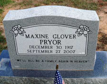 PRYOR, MAXINE - Faulkner County, Arkansas | MAXINE PRYOR - Arkansas Gravestone Photos