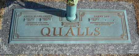 QUALLS, ANITA MARGARETE - Faulkner County, Arkansas | ANITA MARGARETE QUALLS - Arkansas Gravestone Photos