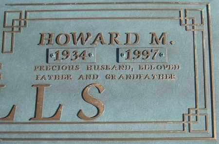 QUALLS, HOWARD M. (CLOSE UP) - Faulkner County, Arkansas   HOWARD M. (CLOSE UP) QUALLS - Arkansas Gravestone Photos