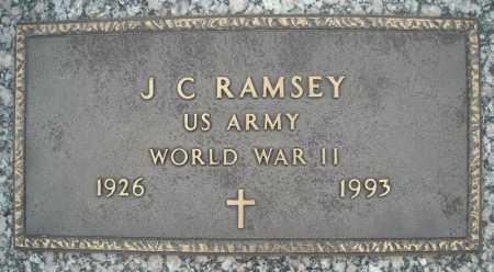 RAMSEY (VETERAN WWII), J C - Faulkner County, Arkansas | J C RAMSEY (VETERAN WWII) - Arkansas Gravestone Photos
