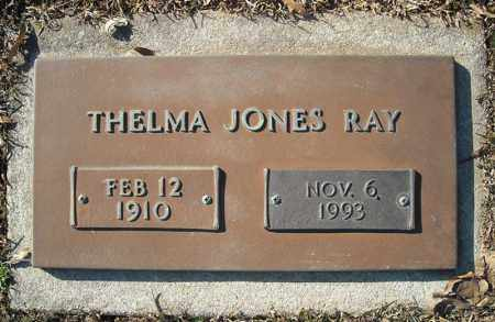 JONES RAY, THELMA - Faulkner County, Arkansas | THELMA JONES RAY - Arkansas Gravestone Photos