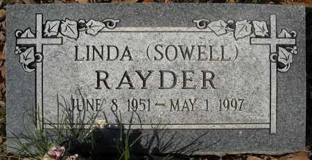 RAYDER, LINDA - Faulkner County, Arkansas | LINDA RAYDER - Arkansas Gravestone Photos