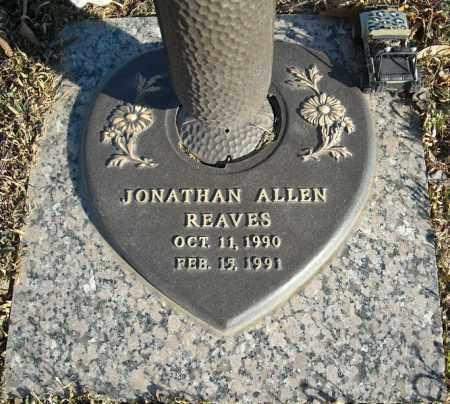 REAVES, JONATHAN ALLEN - Faulkner County, Arkansas | JONATHAN ALLEN REAVES - Arkansas Gravestone Photos