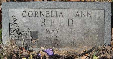 REED, CORNELIA ANN - Faulkner County, Arkansas | CORNELIA ANN REED - Arkansas Gravestone Photos