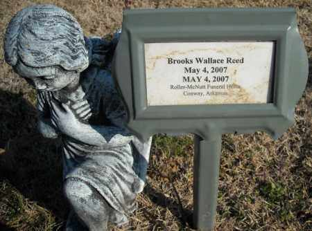 REED, BROOKS WALLACE - Faulkner County, Arkansas | BROOKS WALLACE REED - Arkansas Gravestone Photos