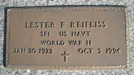 REIFEISS (VETERAN WWII), LESTER F - Faulkner County, Arkansas   LESTER F REIFEISS (VETERAN WWII) - Arkansas Gravestone Photos