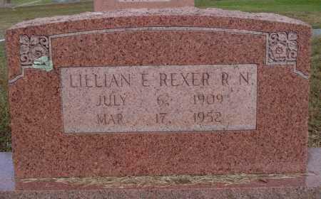 REXER, LILLIAN E. - Faulkner County, Arkansas | LILLIAN E. REXER - Arkansas Gravestone Photos
