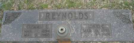 REYNOLDS, CLEMMIE E. - Faulkner County, Arkansas | CLEMMIE E. REYNOLDS - Arkansas Gravestone Photos