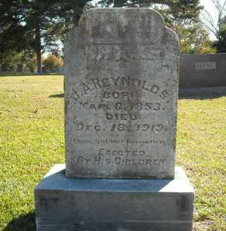 REYNOLDS, J.A. - Faulkner County, Arkansas | J.A. REYNOLDS - Arkansas Gravestone Photos