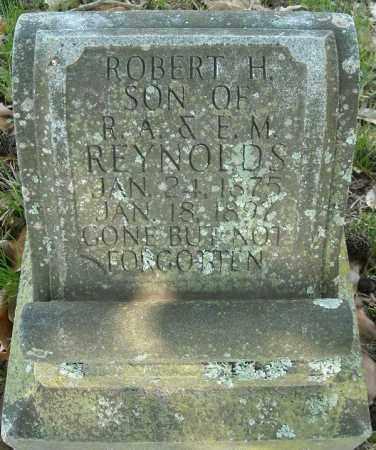 REYNOLDS, ROBERT H. - Faulkner County, Arkansas | ROBERT H. REYNOLDS - Arkansas Gravestone Photos