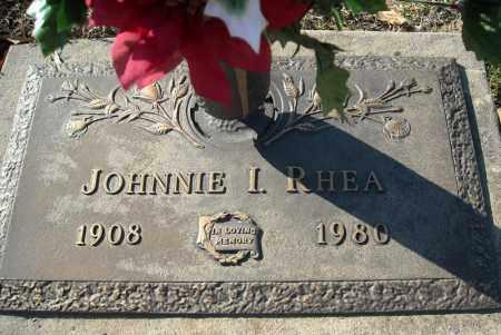 RHEA, JOHNNIE I. - Faulkner County, Arkansas | JOHNNIE I. RHEA - Arkansas Gravestone Photos