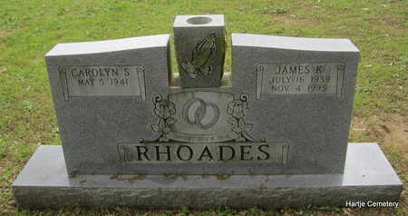 RHOADES, JAMES K. - Faulkner County, Arkansas | JAMES K. RHOADES - Arkansas Gravestone Photos