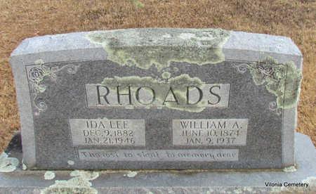 RHOADS, WILLIAM A - Faulkner County, Arkansas | WILLIAM A RHOADS - Arkansas Gravestone Photos