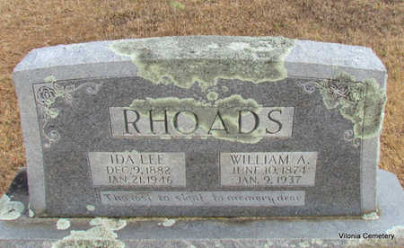 RHOADS, IDA LEE - Faulkner County, Arkansas | IDA LEE RHOADS - Arkansas Gravestone Photos