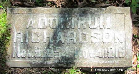 RICHARDSON, ADONIRUM - Faulkner County, Arkansas   ADONIRUM RICHARDSON - Arkansas Gravestone Photos