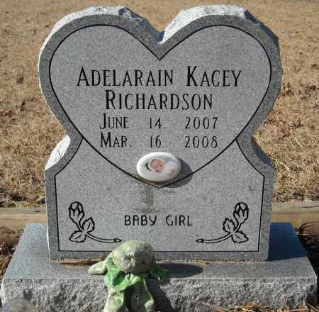 RICHARDSON, ADELARAIN KACEY - Faulkner County, Arkansas | ADELARAIN KACEY RICHARDSON - Arkansas Gravestone Photos
