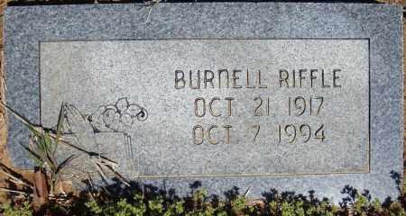 RIFFLE, BURNELL - Faulkner County, Arkansas | BURNELL RIFFLE - Arkansas Gravestone Photos