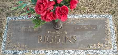 RIGGINS, R. OZELL - Faulkner County, Arkansas | R. OZELL RIGGINS - Arkansas Gravestone Photos