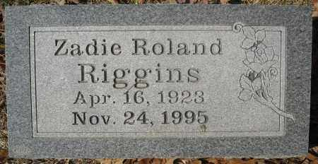 RIGGINS, ZADIE - Faulkner County, Arkansas | ZADIE RIGGINS - Arkansas Gravestone Photos