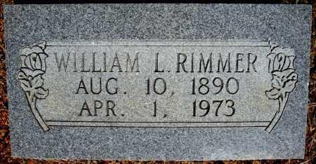 RIMMER, WILLIAM L. - Faulkner County, Arkansas | WILLIAM L. RIMMER - Arkansas Gravestone Photos
