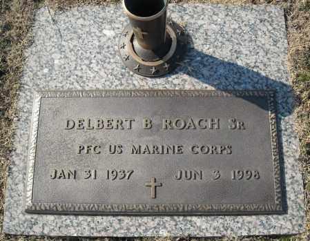 ROACH, SR. (VETERAN), DELBERT B. - Faulkner County, Arkansas | DELBERT B. ROACH, SR. (VETERAN) - Arkansas Gravestone Photos
