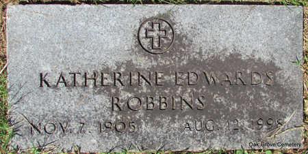 ROBBINS, KATHERINE - Faulkner County, Arkansas | KATHERINE ROBBINS - Arkansas Gravestone Photos
