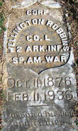 ROBBINS (VETERAN SAW), WELLINGTON - Faulkner County, Arkansas | WELLINGTON ROBBINS (VETERAN SAW) - Arkansas Gravestone Photos