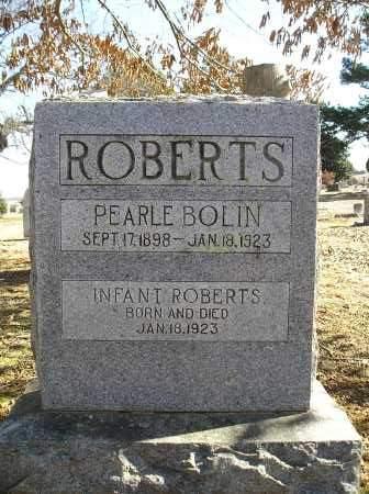 ROBERTS, PEARLE - Faulkner County, Arkansas | PEARLE ROBERTS - Arkansas Gravestone Photos