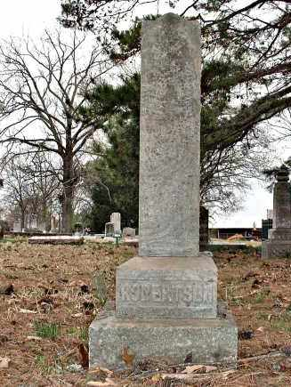 ROBERTSON, WILLIAM M. - Faulkner County, Arkansas | WILLIAM M. ROBERTSON - Arkansas Gravestone Photos