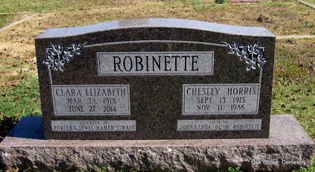 ROBINETTE, CHESLEY HORRIS - Faulkner County, Arkansas | CHESLEY HORRIS ROBINETTE - Arkansas Gravestone Photos